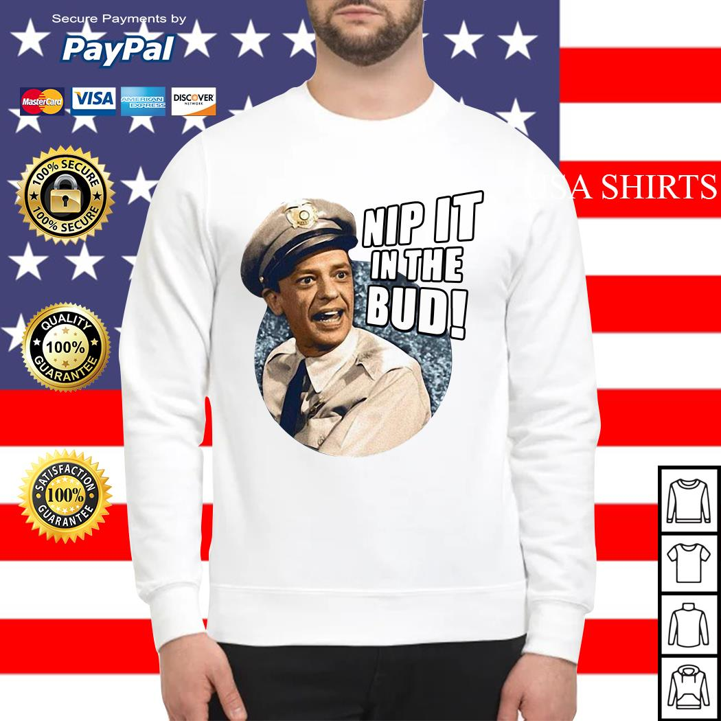 Andy Griffith Icon Nip It Adult Sweater