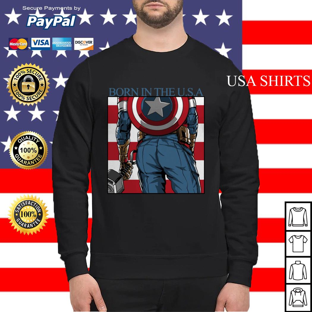 Captain America Chris Evans born in the USA Sweater