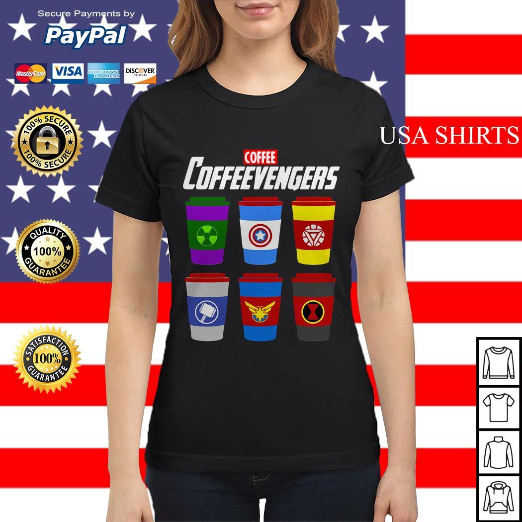 Coffee coffeevengers Avengers Endgame Ladies tee