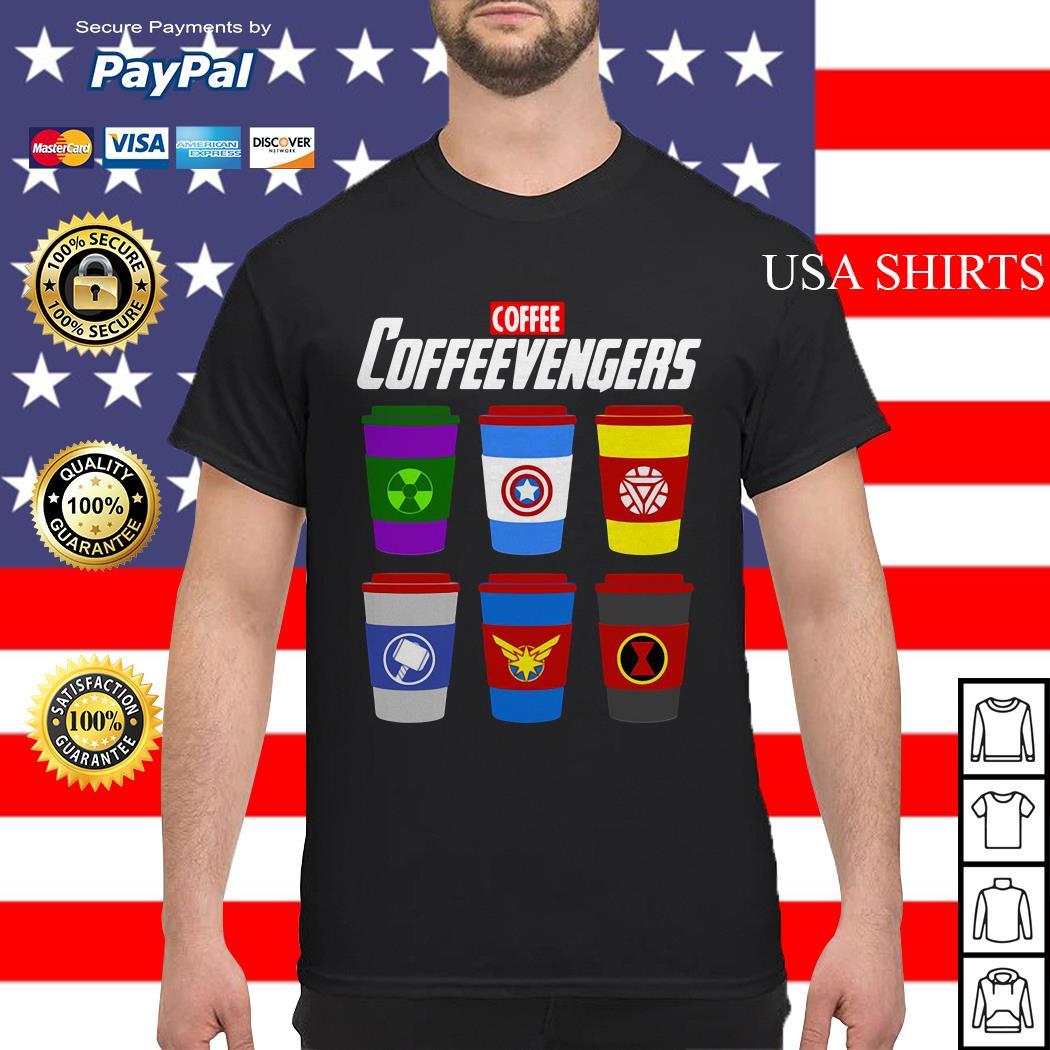 Coffee coffeevengers Avengers Endgame shirt