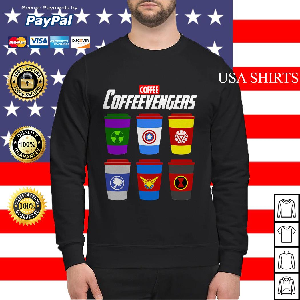 Coffee coffeevengers Avengers Endgame Sweater