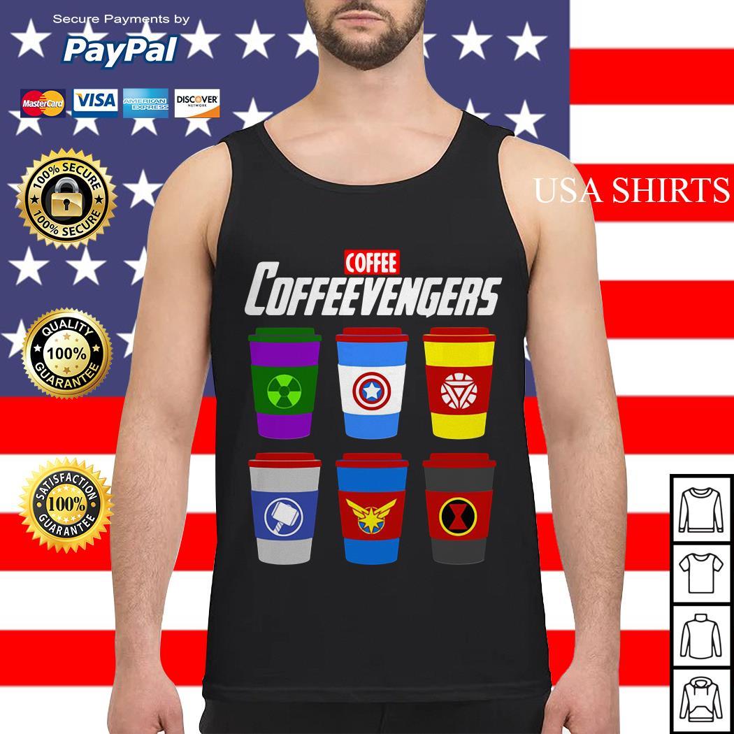 Coffee coffeevengers Avengers Endgame Tank top