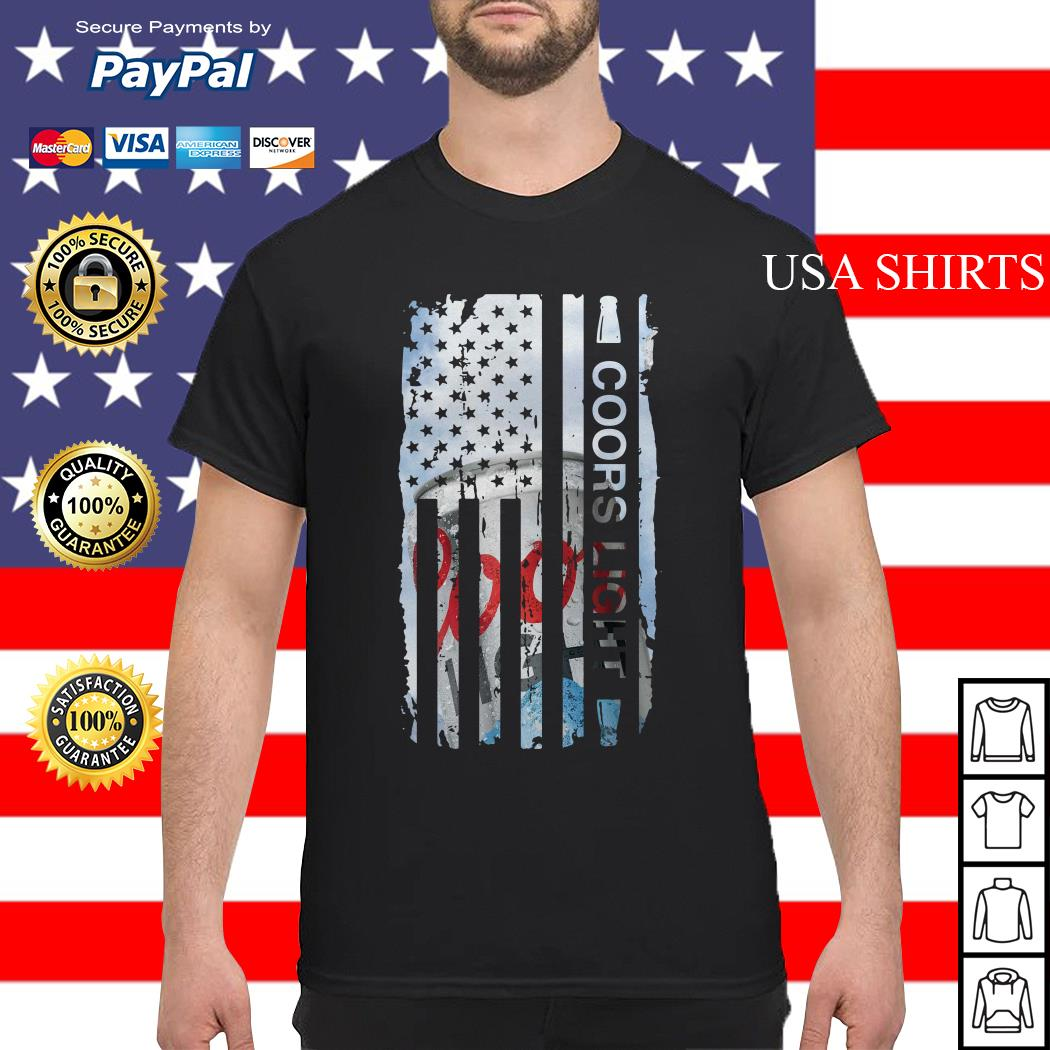 Coors Light flag America shirt