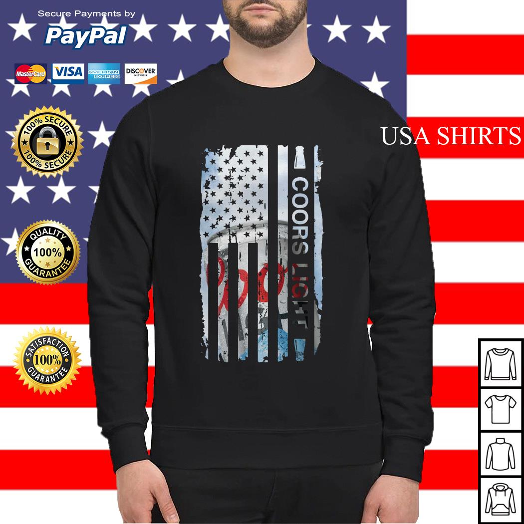 Coors Light flag America Sweater