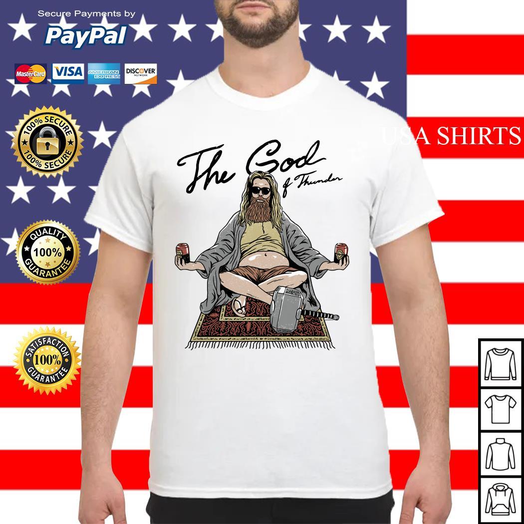 Fat Thor the God of thunder Avengers shirt