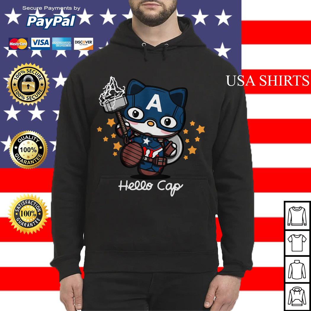 Hello Kitty Captain America Hoodie