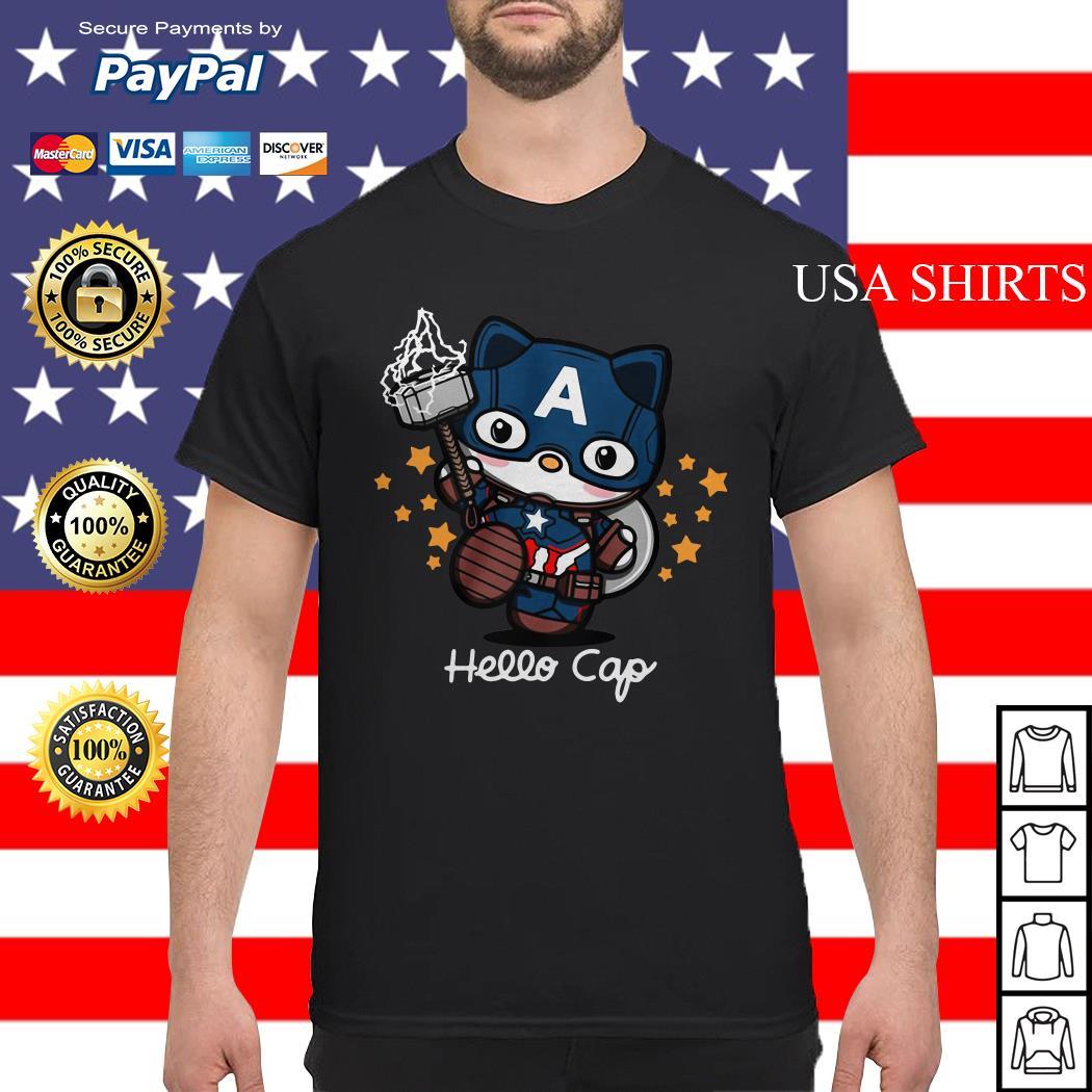Hello Kitty Captain America shirt
