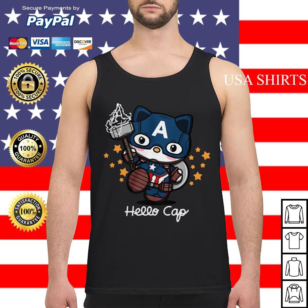 Hello Kitty Captain America Tank top