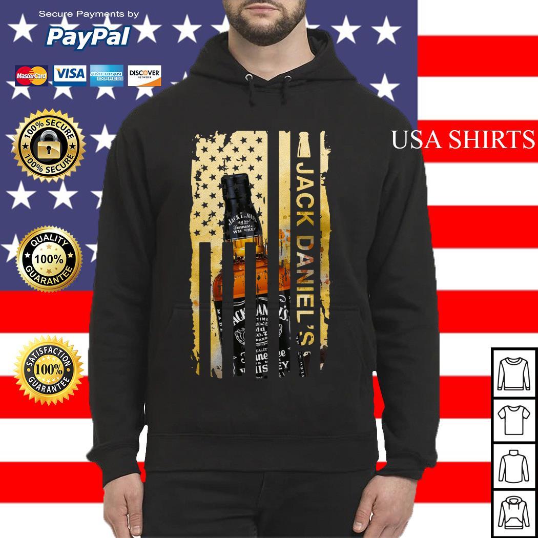 Jack Daniels flag America Hoodie
