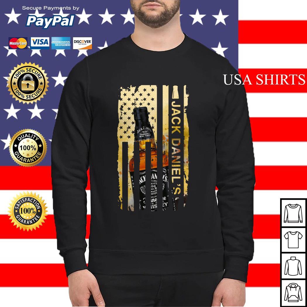 Jack Daniels flag America Sweater