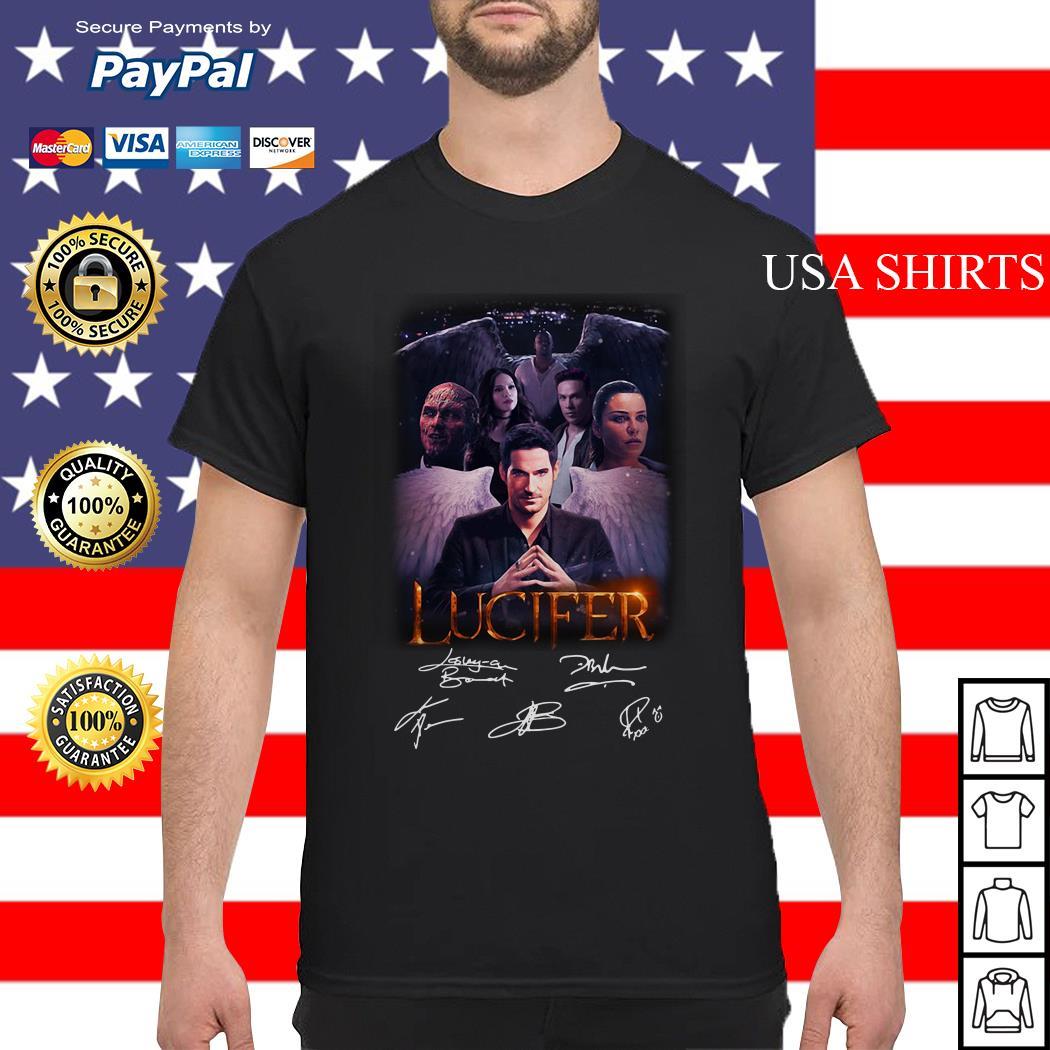 Lucifer Amo Series Estrellas Fondos De Pantalla Lucero Del Alba Netflix shirt