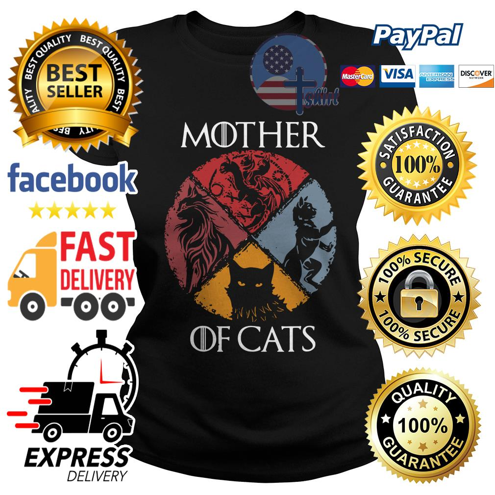 Official Mother of cats Game of Thrones Ladies tee