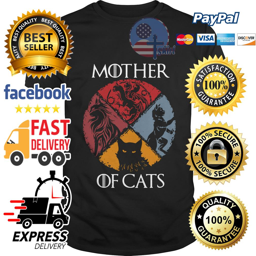 Official Mother of cats Game of Thrones shirt