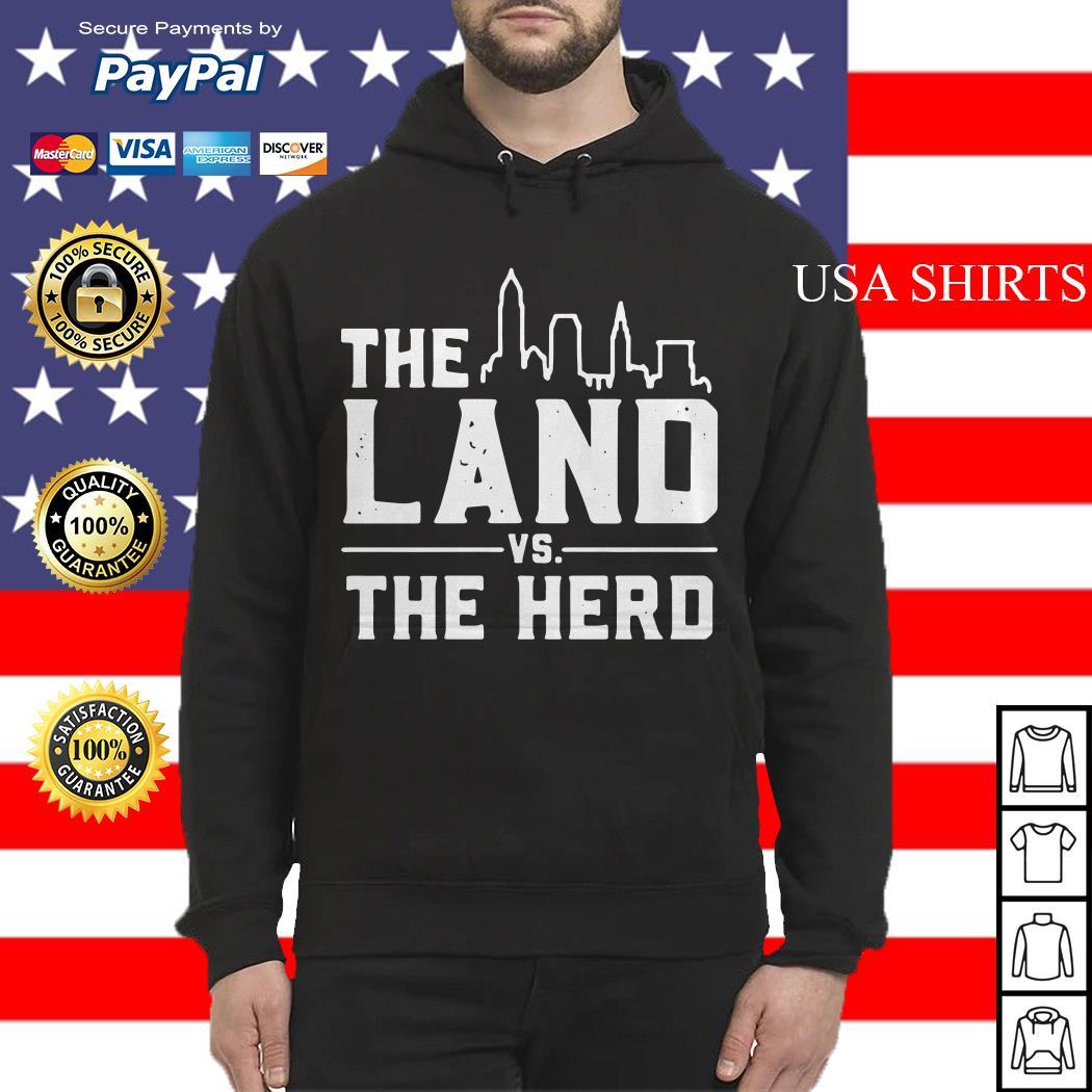 The land vs the hero Hoodie