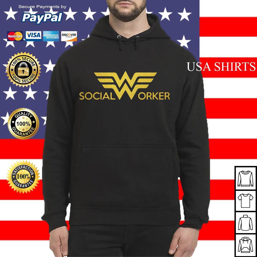 Wonder woman social worker Hoodie