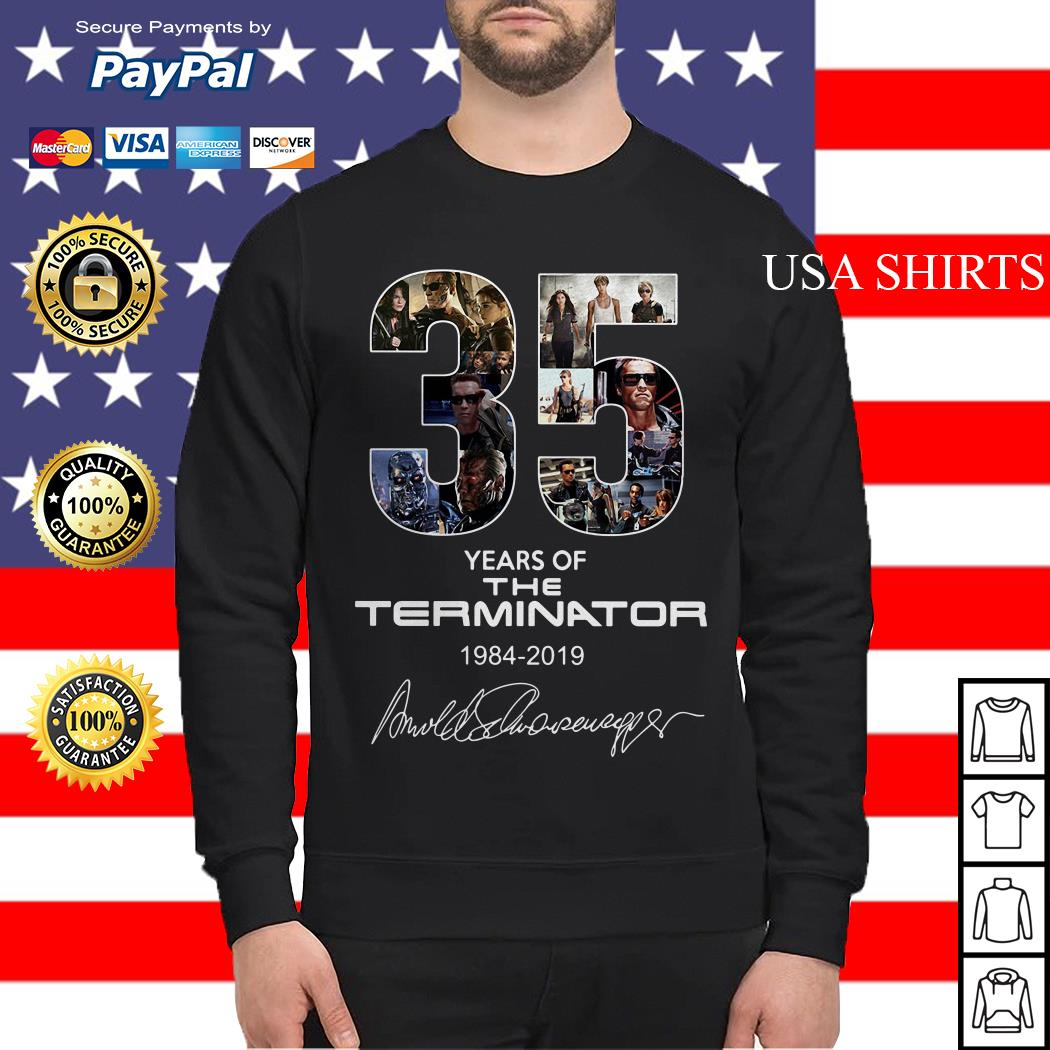 35 years of the Terminator 1984 2019 Sweater