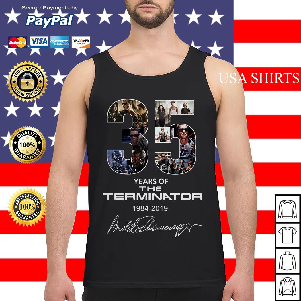 35 years of the Terminator 1984 2019 Tank top