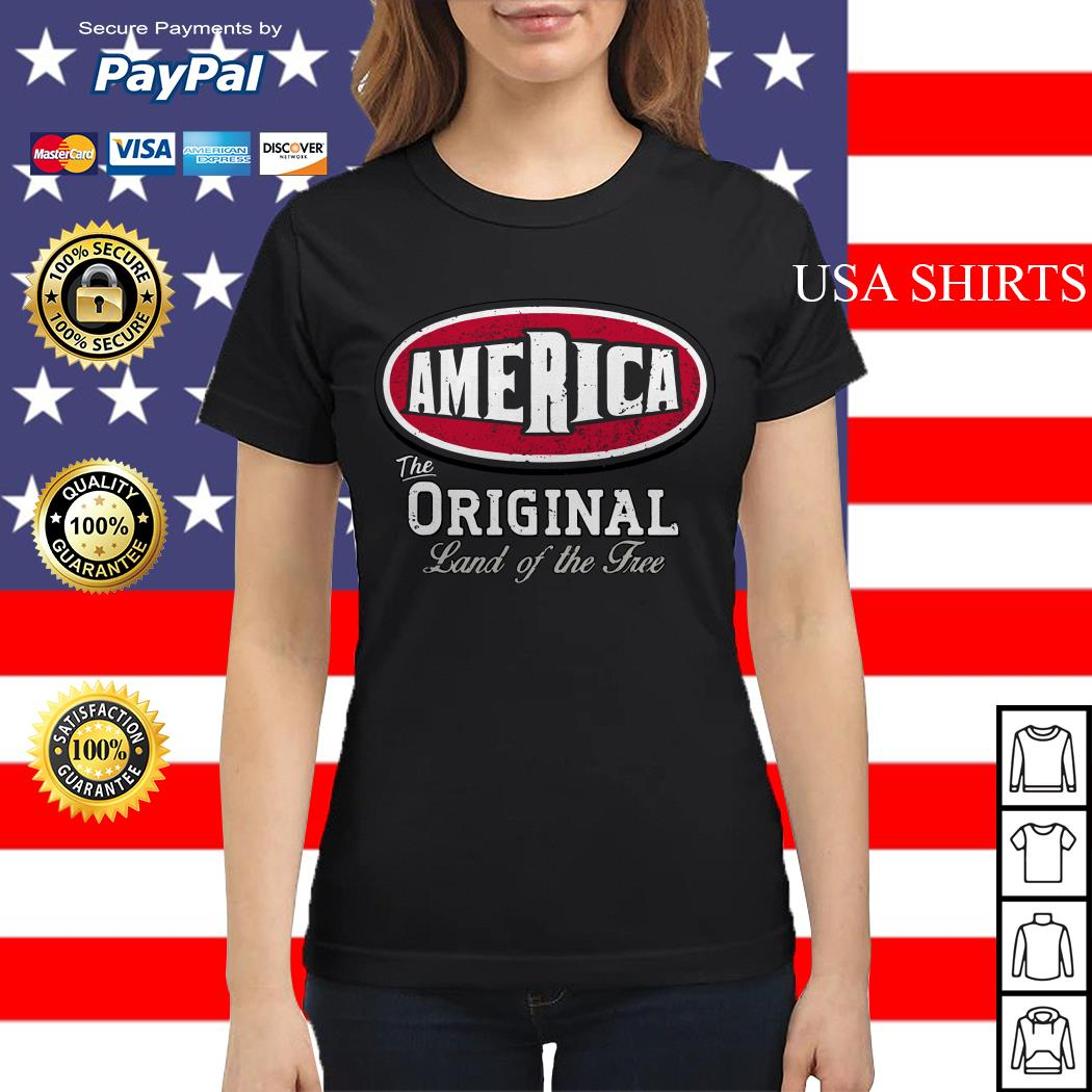 The America original land of the free Ladies tee