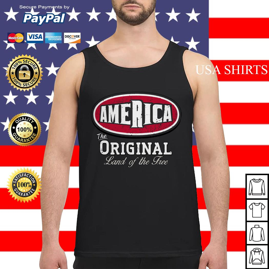 The America original land of the free Tank top