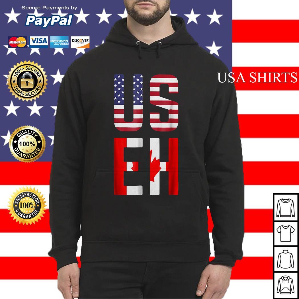 American Canadian US EH hoodie
