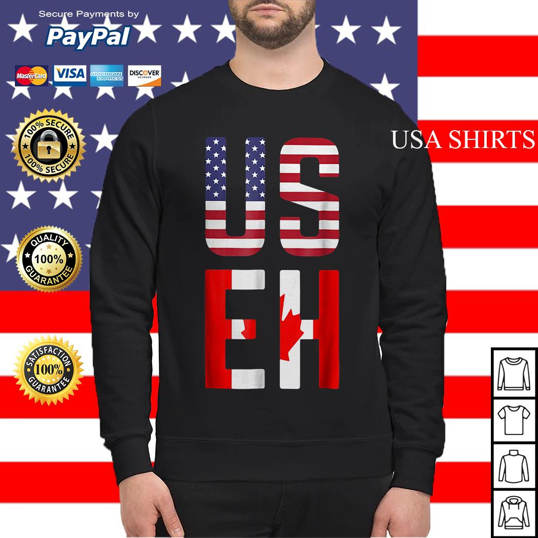 American Canadian US EH sweater