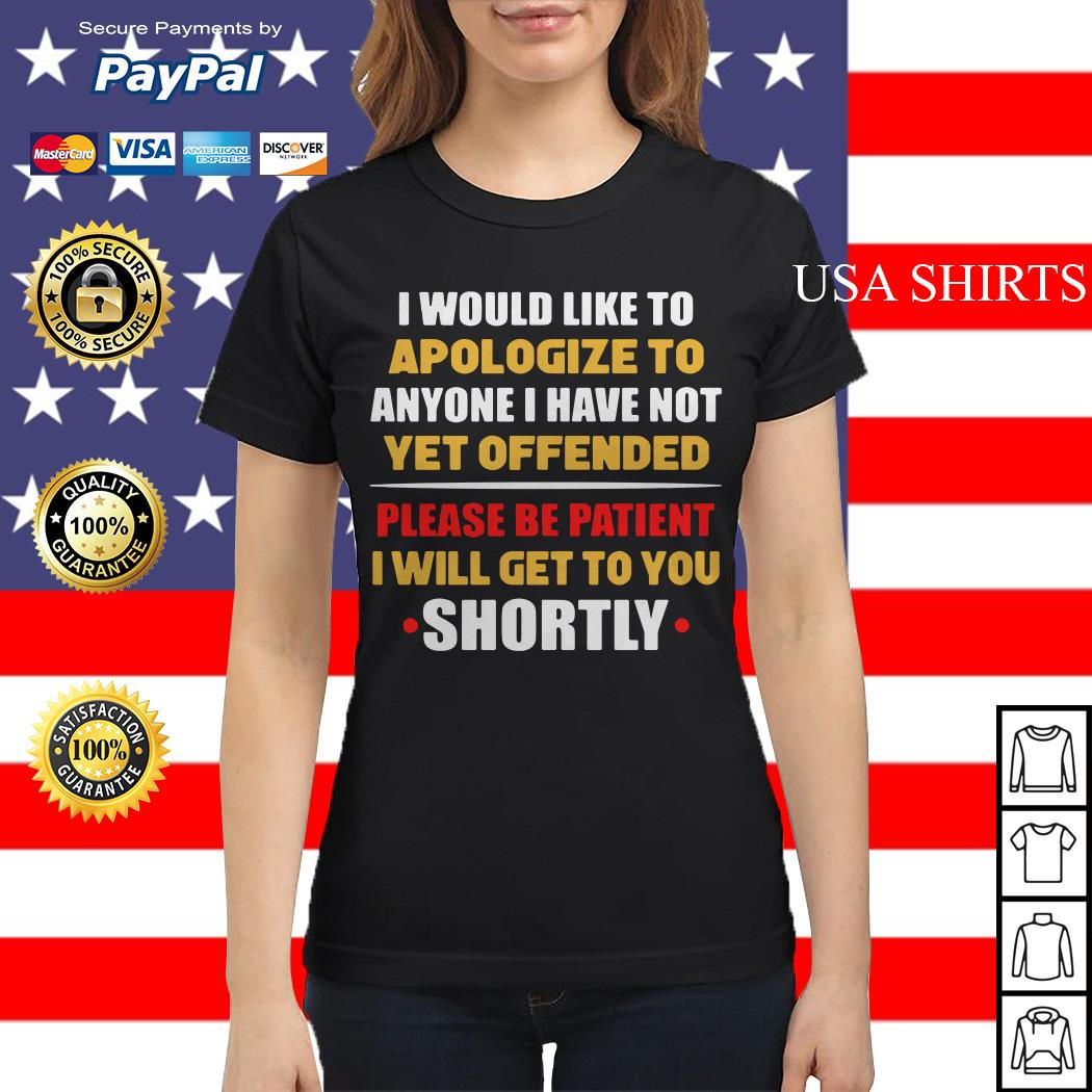 Anyone I have not yet offended I will get to you shortly Ladies tee