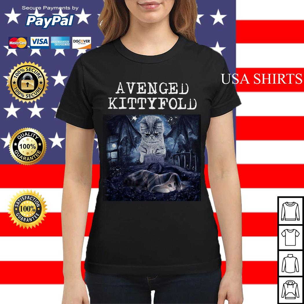Avenged Kittyfold Dark Lord cat Ladies tee