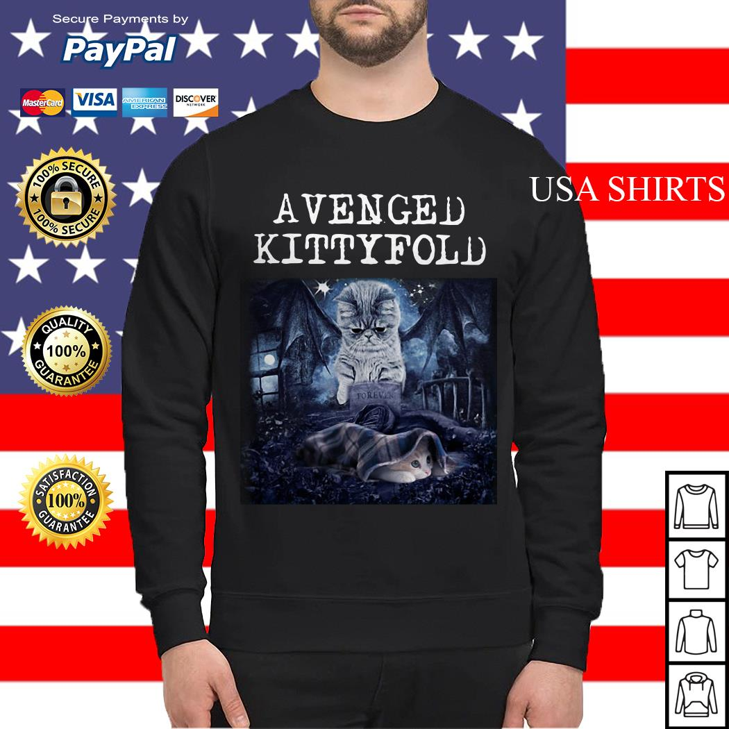 Avenged Kittyfold Dark Lord cat Sweater
