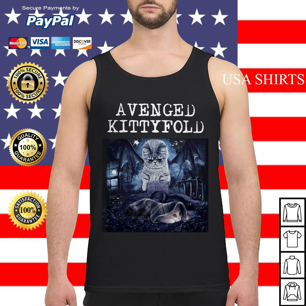 Avenged Kittyfold Dark Lord cat Tank top