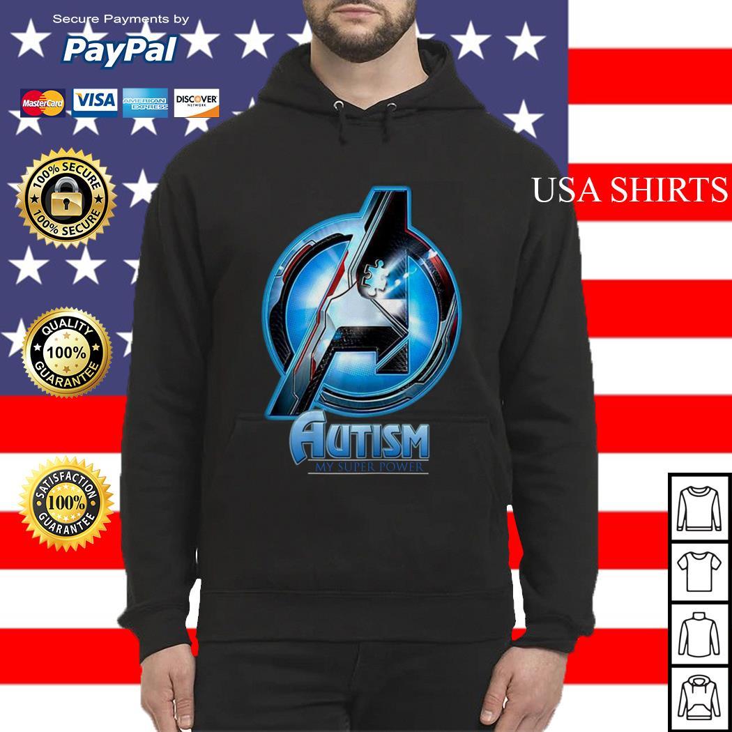 Avengers Endgame Autism my superpower Hoodie
