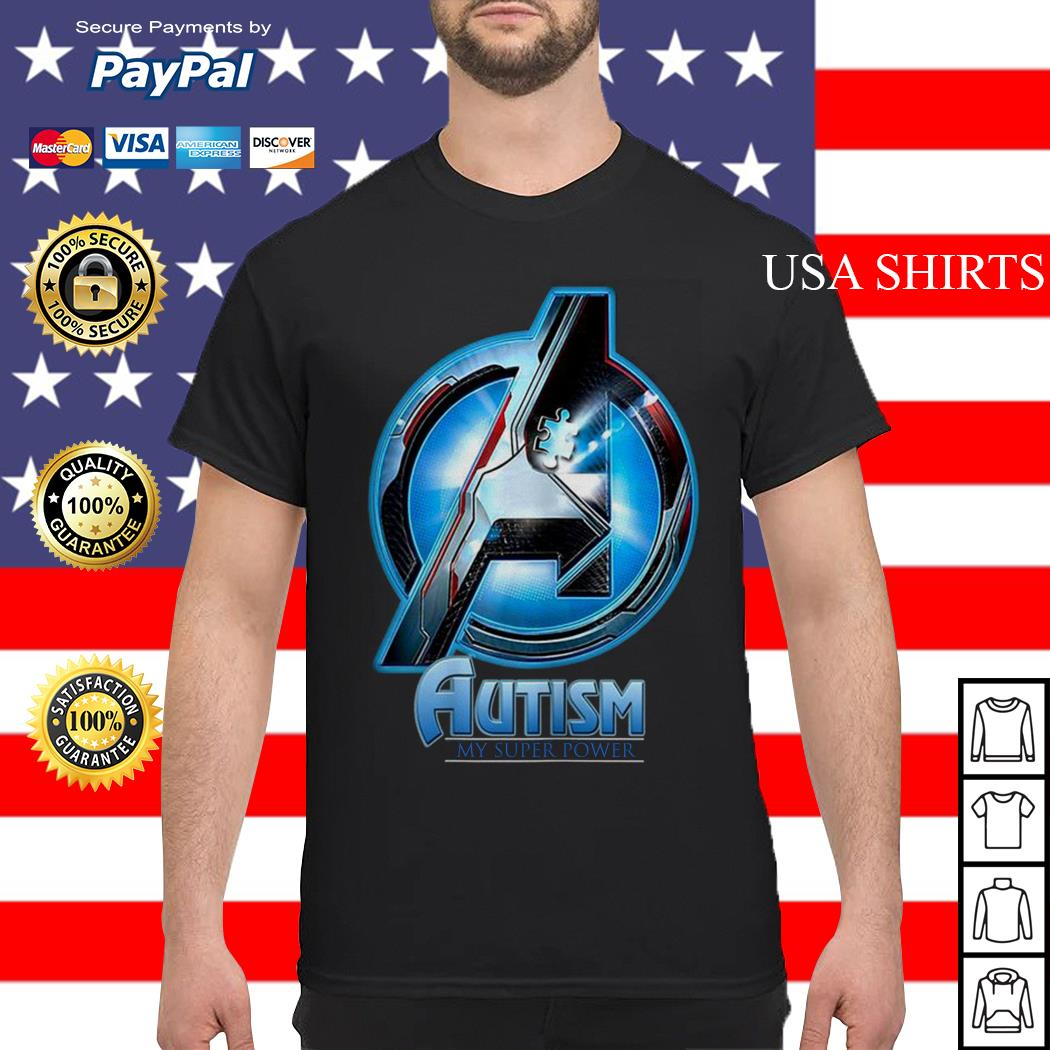 Avengers Endgame Autism my superpower shirt