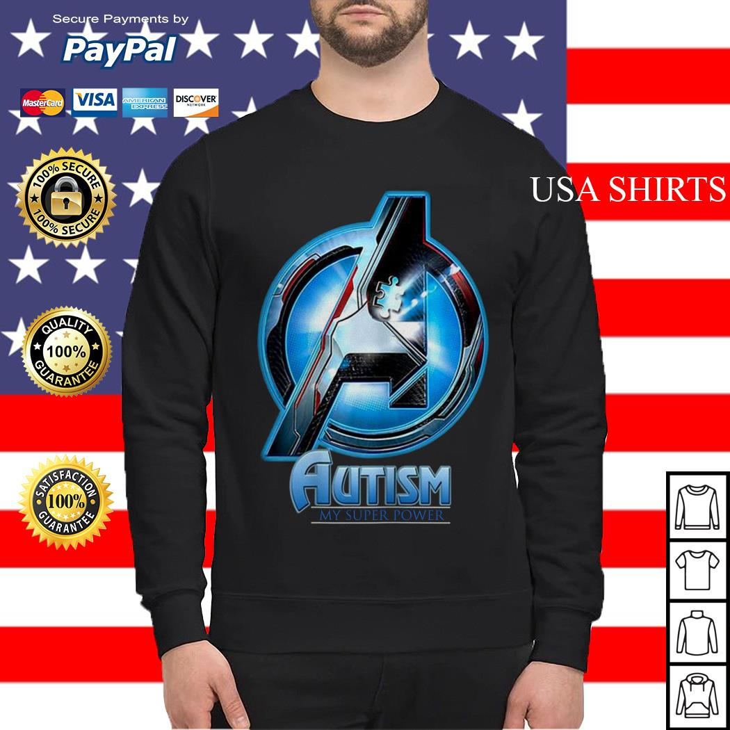 Avengers Endgame Autism my superpower Sweater