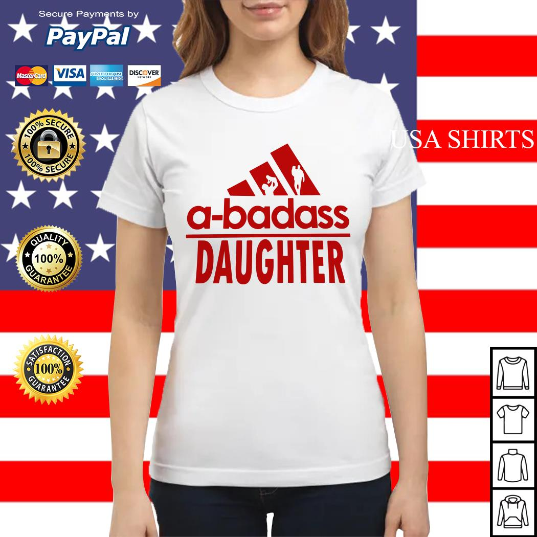 A-badass Daughter Ladies tee