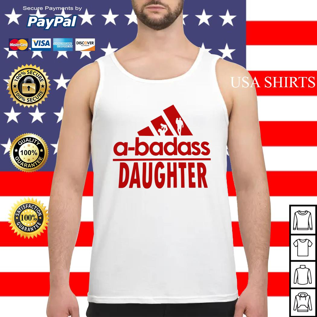 A-badass Daughter Tank top