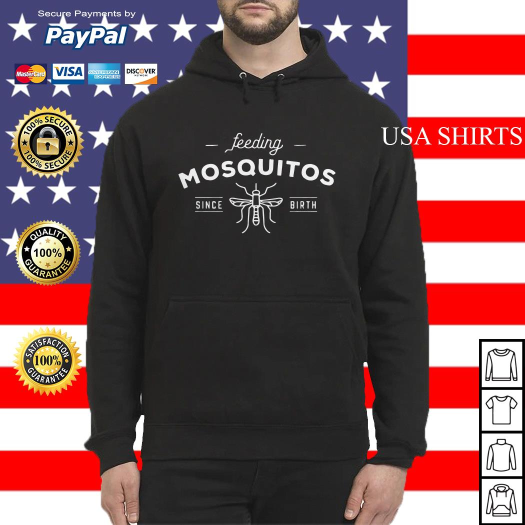 Bee Feeding mosquitos since birth Hoodie