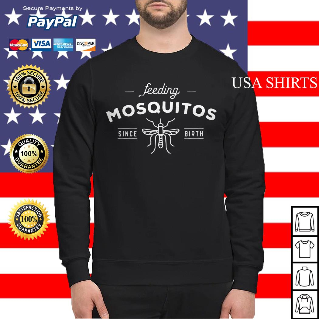Bee Feeding mosquitos since birth Sweater