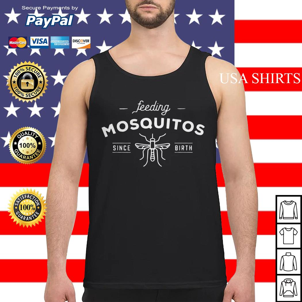 Bee Feeding mosquitos since birth Tank top