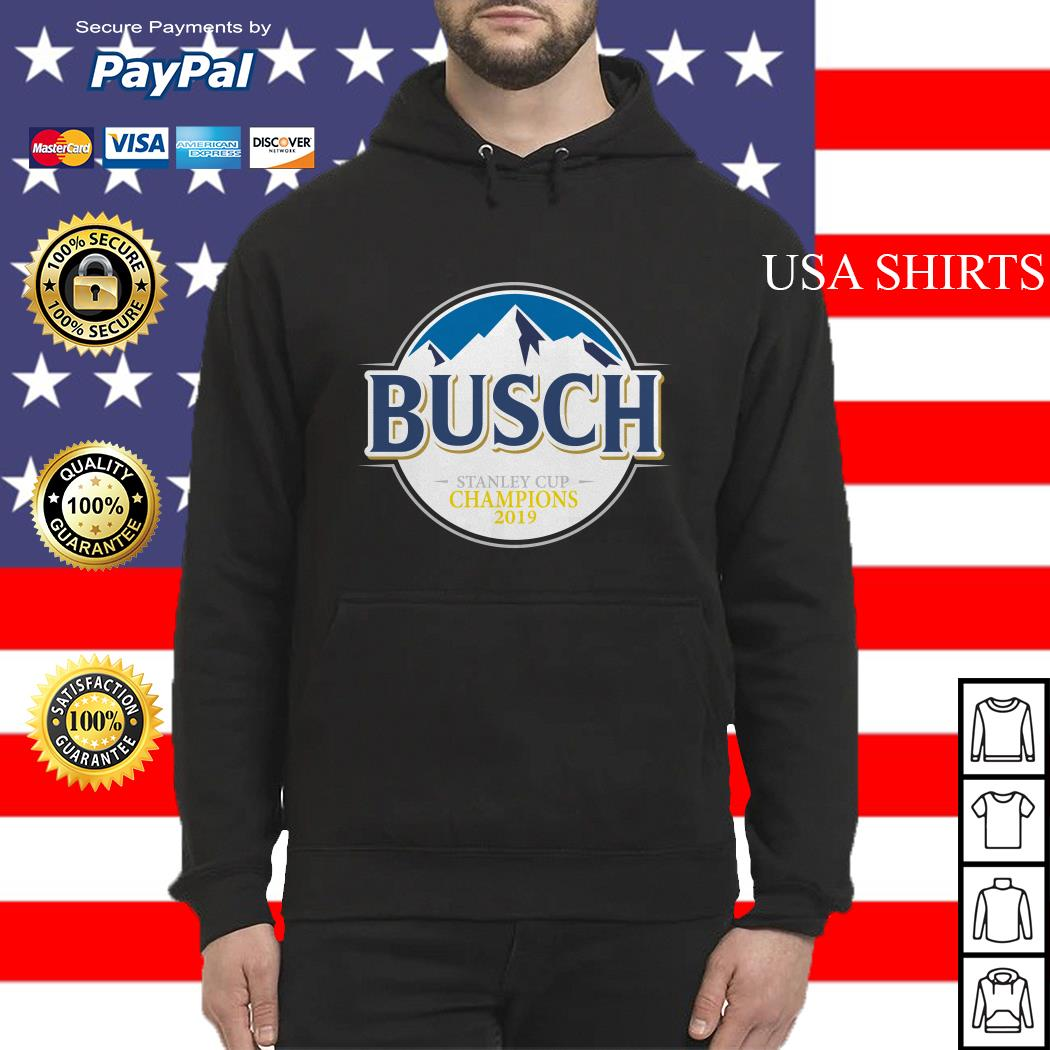 Blues Busch stanley cup champions 2019 Hoodie
