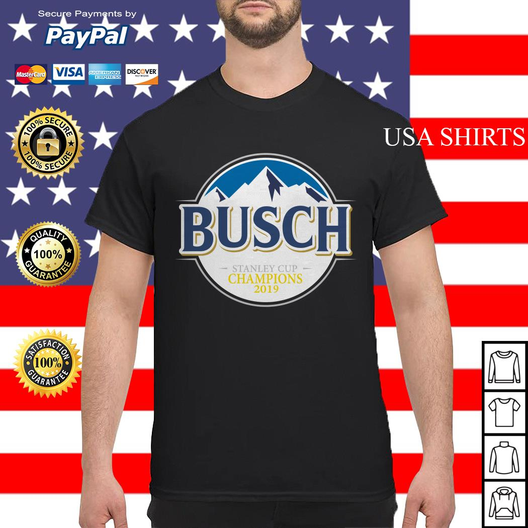 Blues Busch stanley cup champions 2019 shirt