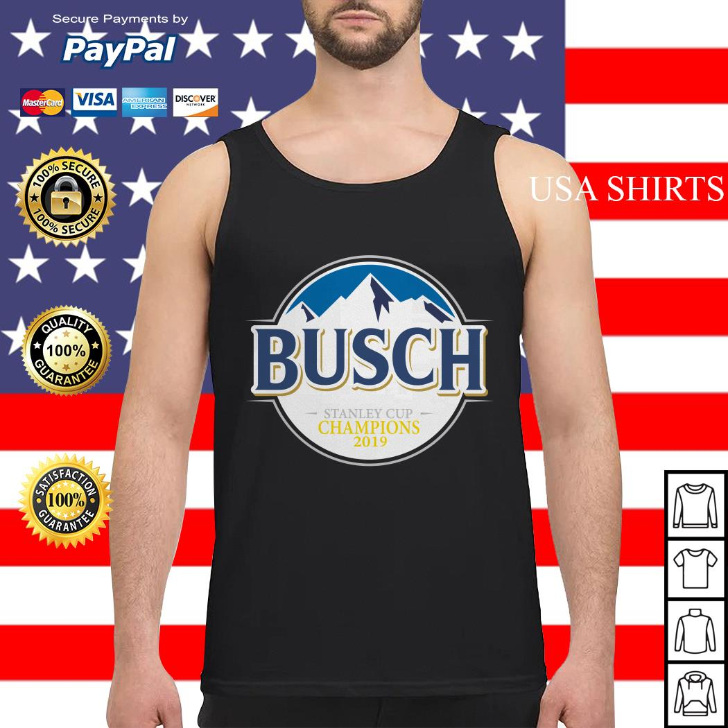 Blues Busch stanley cup champions 2019 Tank top