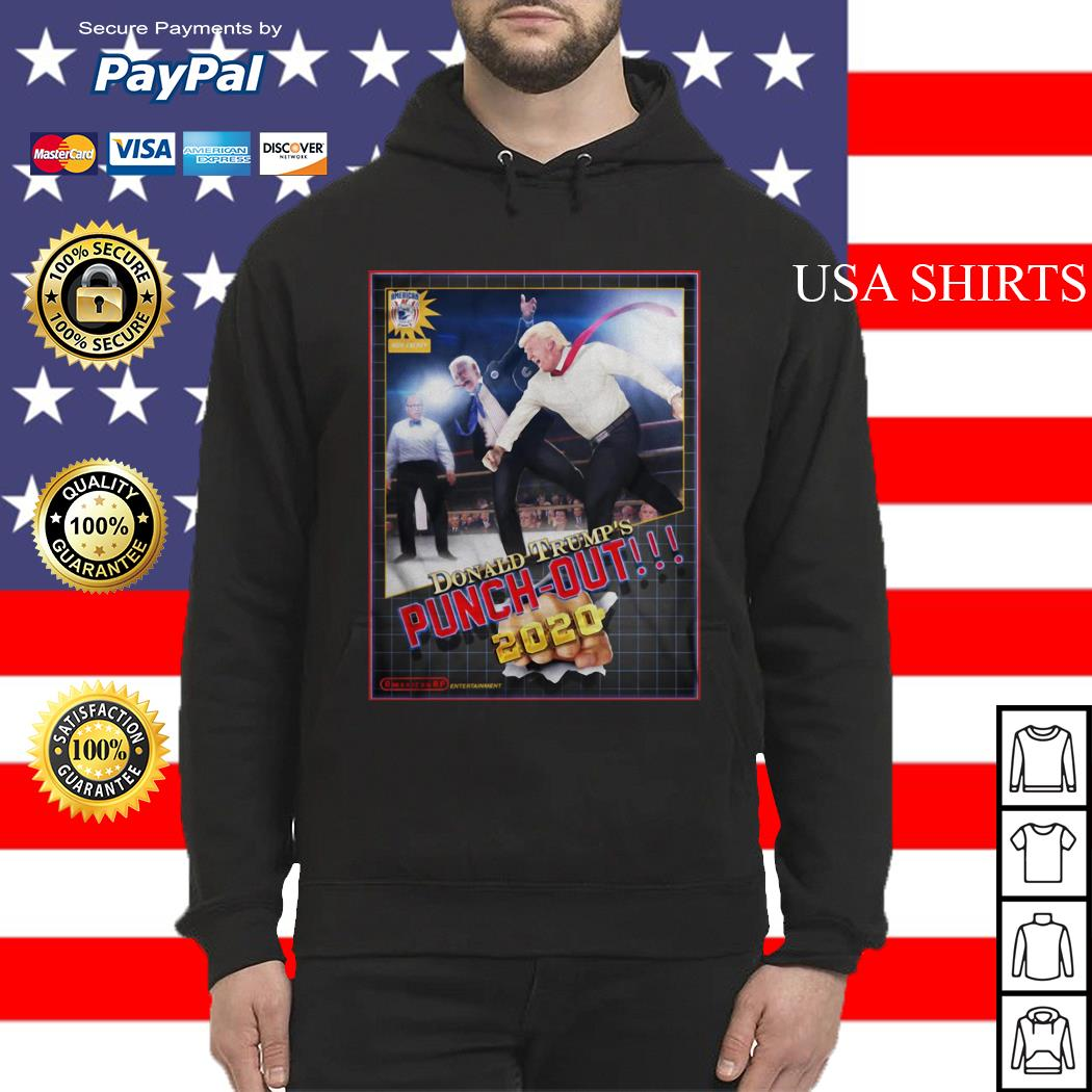 Donald Trump's Punch Out 2020 Hoodie