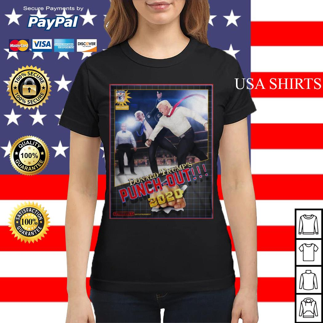 Donald Trump's Punch Out 2020 Ladies tee