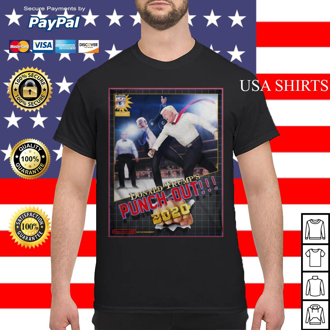 Donald Trump's Punch Out 2020 shirt