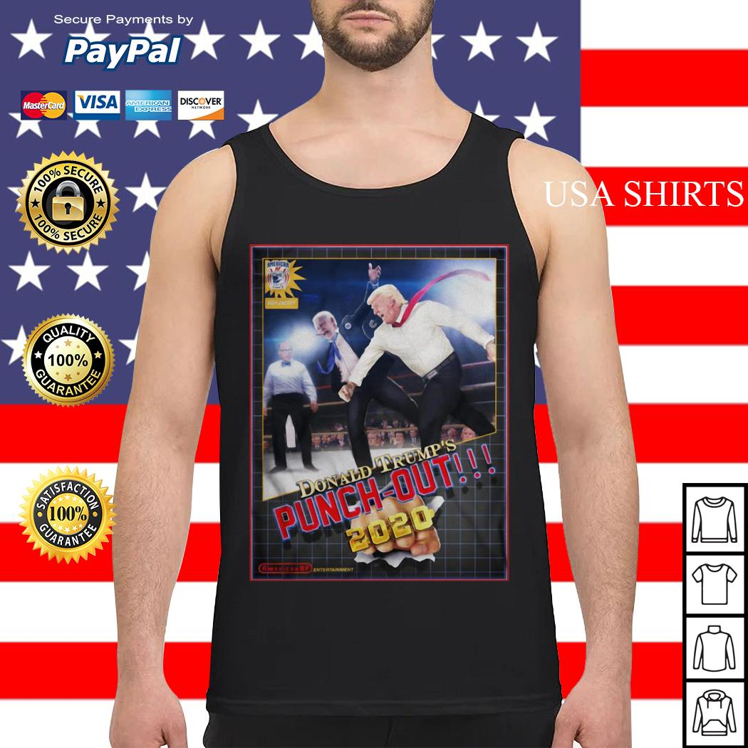 Donald Trump's Punch Out 2020 Tank top