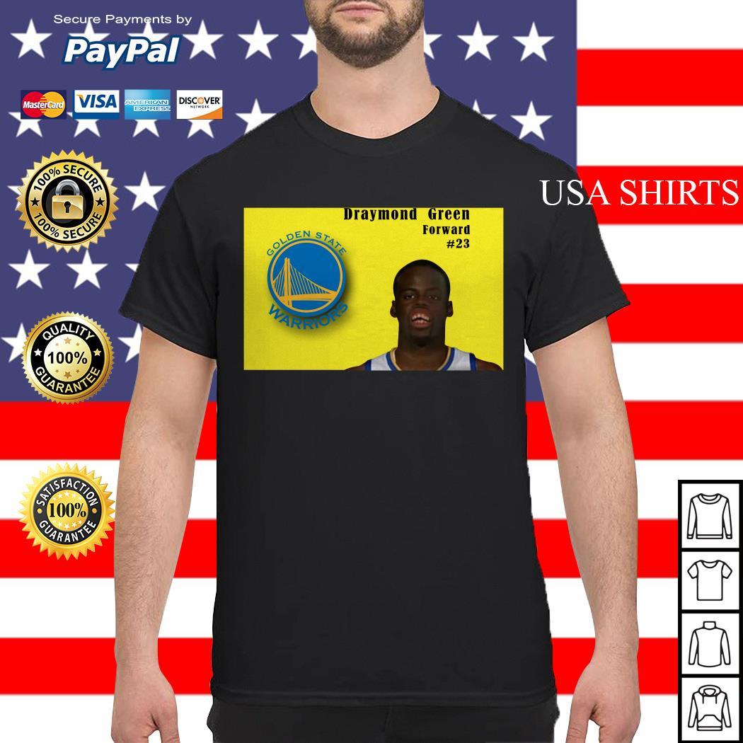 Draymond Green forward Golden State Warriors shirt