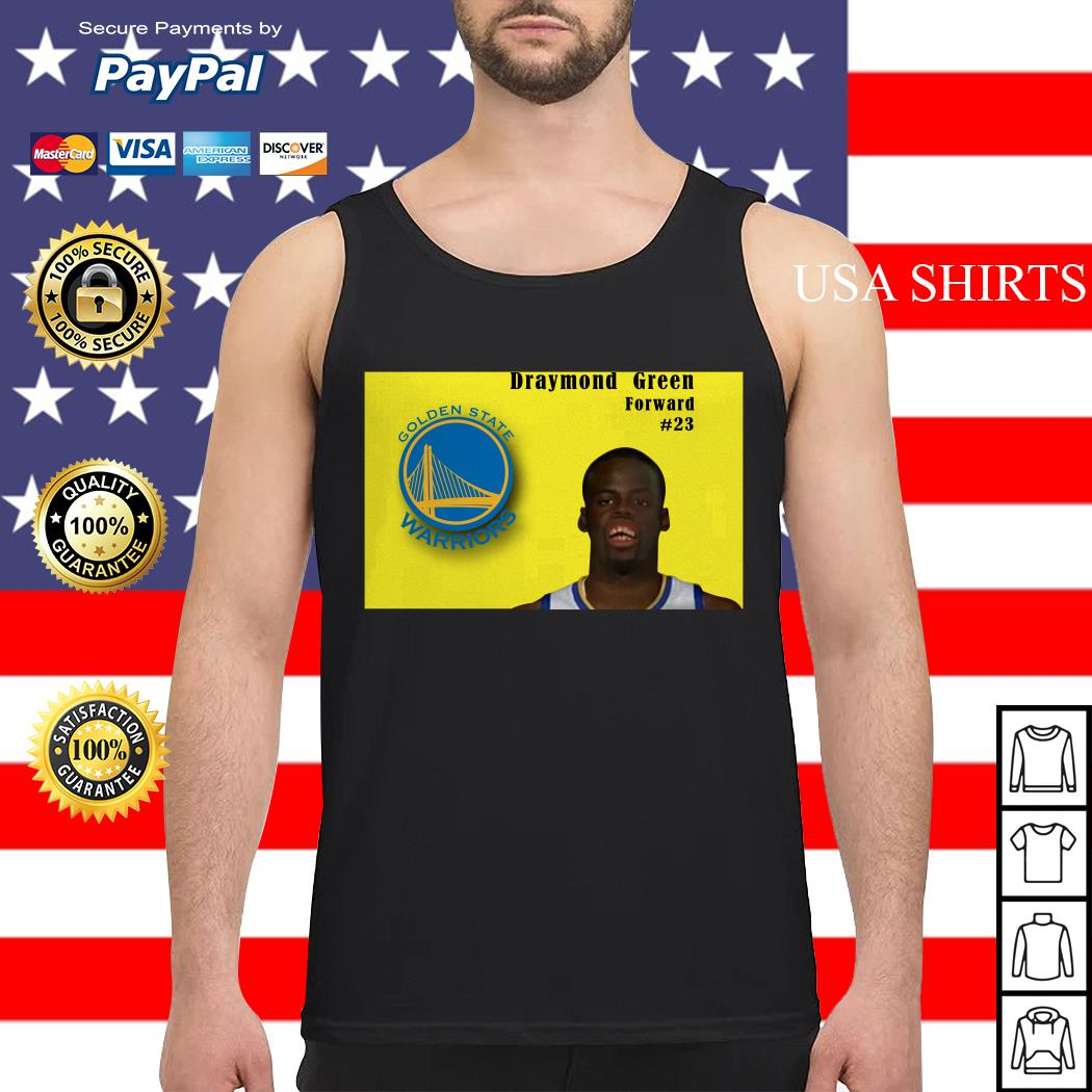 Draymond Green forward Golden State Warriors Tank top