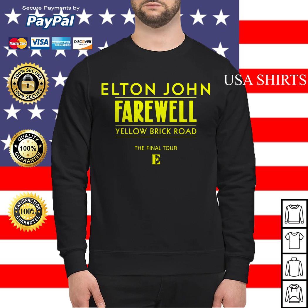 Elton John Farewell yellow brick road the final tour Sweater