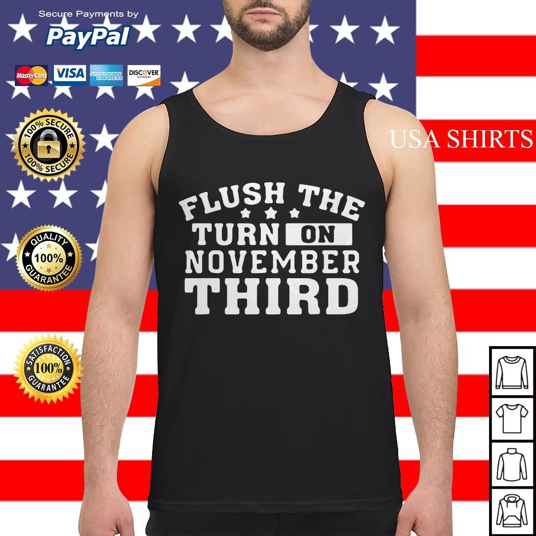 Flush the turd on November third Tank top