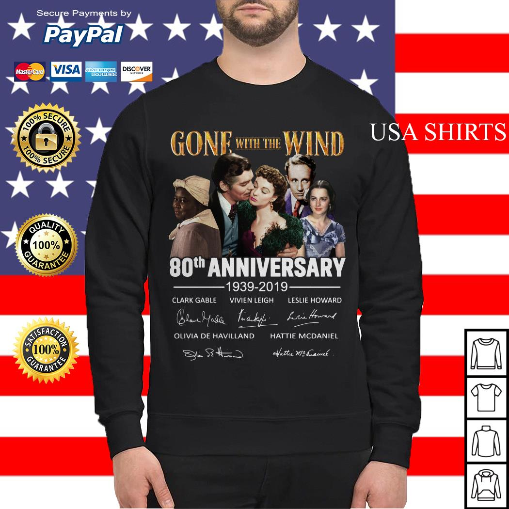 Gone with the wind 80th anniversary 1939 2019 Sweater
