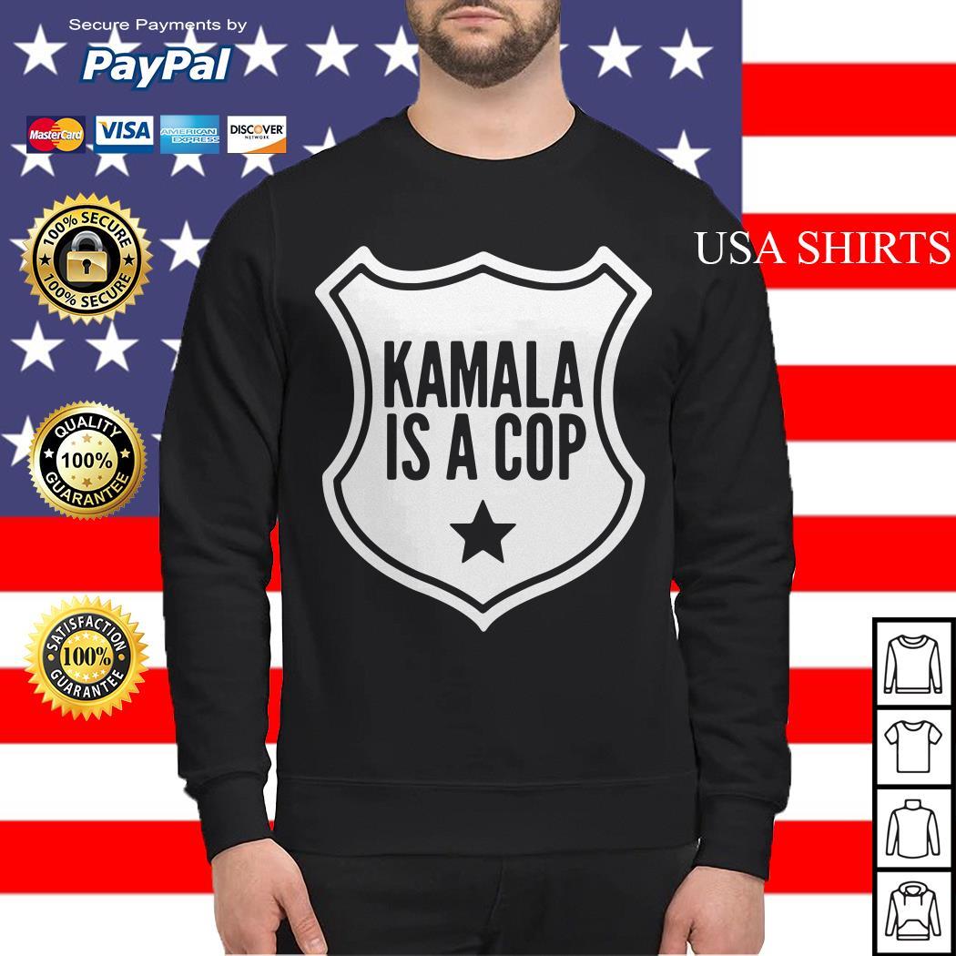 Harris Kamala is a cop Sweater